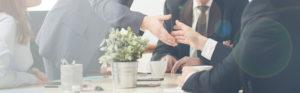 handshake in meeting
